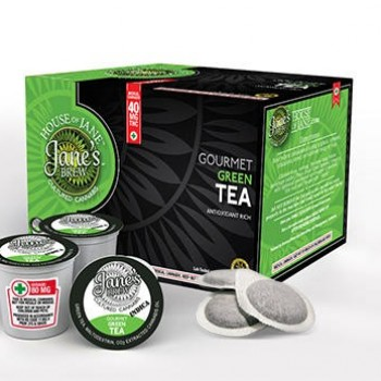 K-Cup - Gourmet Green Tea - Indica - Beverage - House of Jane (Jane's Brew)