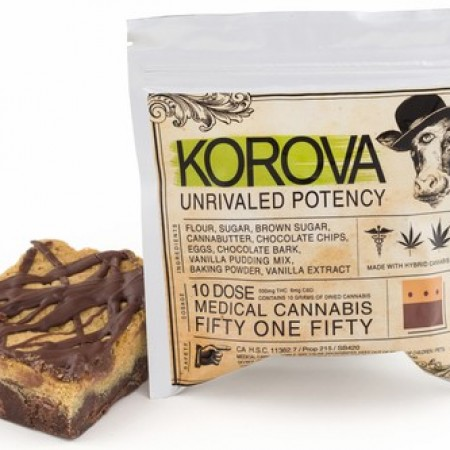 51/50 Bar - Baked Good - Korova Edibles