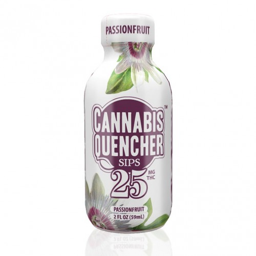 Passionfruit Cannabis Quencher Sips Logo