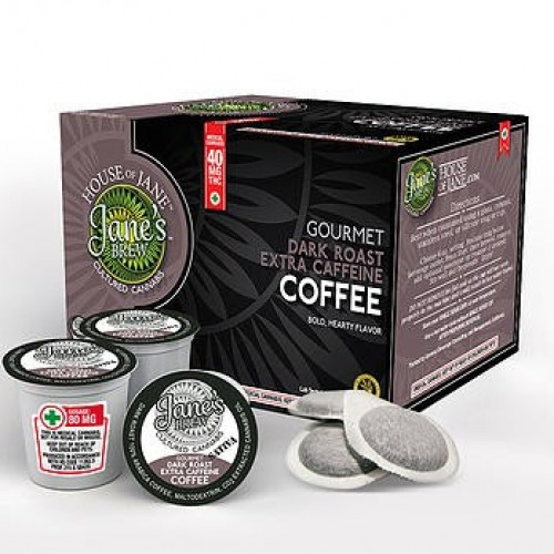 K-Cup - Dark Roast Extra Caffeine - High CBD