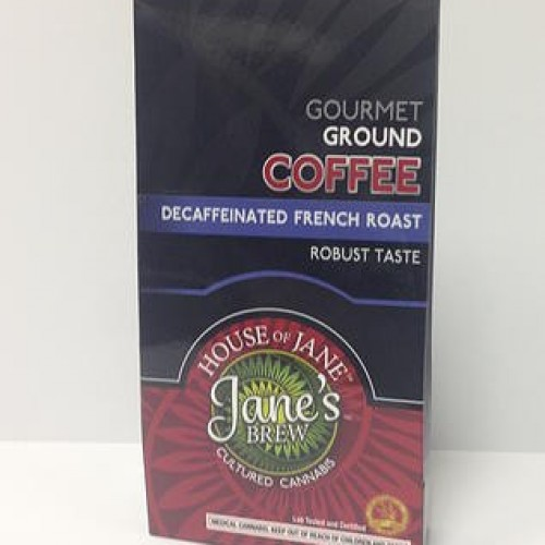 Ground - Gourmet French Roast Decaffeinated - Indica (2x Single Serve/Dose)