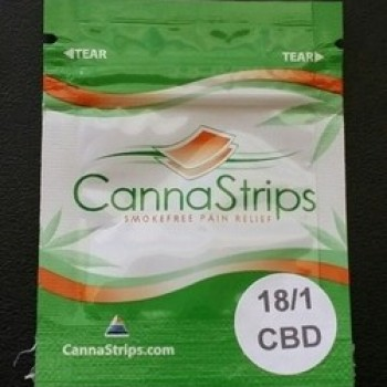CannaStrip (CBD) - Breath Strip - CannaStrips