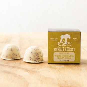 Indulgent White Chocolate Berry Bites - Treat - Mountain Medicine