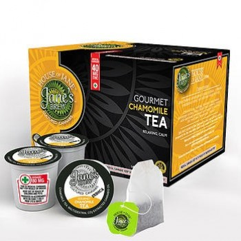K-Cup - Gourmet Chamomile Tea - Indica - Beverage - House of Jane (Jane's Brew)