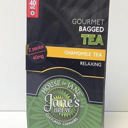 Tea Bags - Chamomile Tea - Indica (2x Single Serve/Dose)