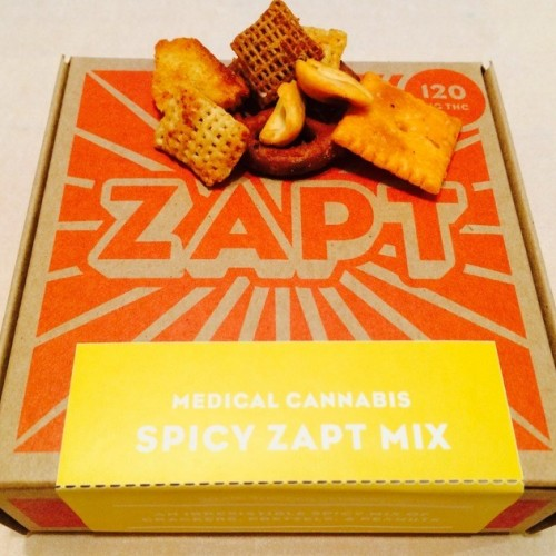Spicy Zapt Mix 120mg Logo