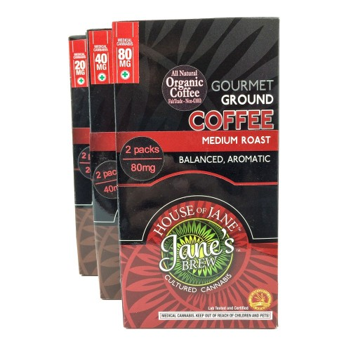 Ground - Gourmet Medium Roast - Hybrid (2x Single Serve/Dose)