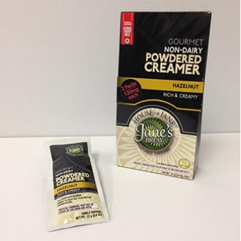Hazelnut Non-Dairy Powder Creamers - Indica (2x Single Serve/Dose) - Beverage - House of Jane (Jane's Brew)