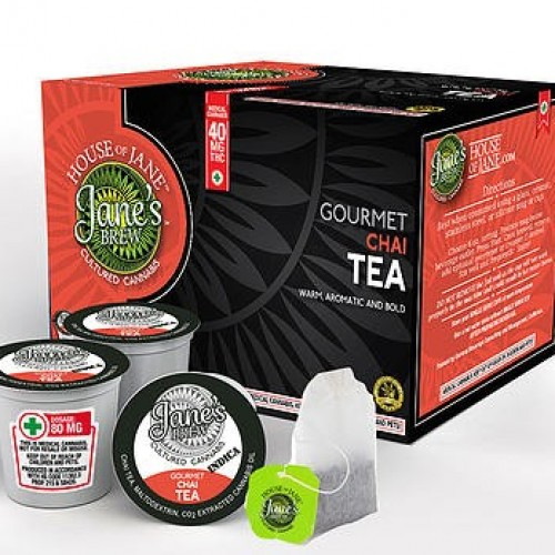 K-Cup - Gourmet Chai Tea - High CBD
