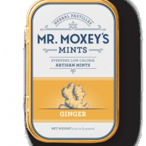 Moxey's Mints - Ginger Logo