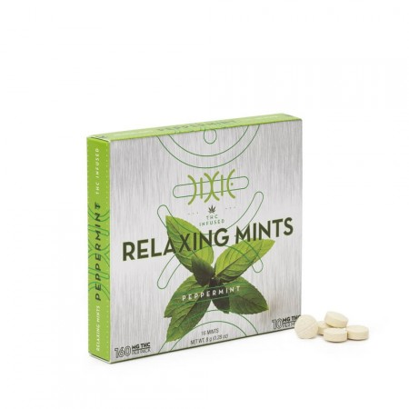 Peppermint Relaxing Mints - 16x10mg