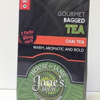 Tea Bags - Chai Tea - Indica (2x Single Serve/Dose) - Beverage - House of Jane (Jane's Brew)
