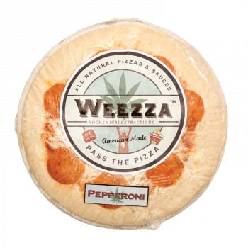 Cheese and Pepperoni Pizza, 600mg - Snack - Weezza Pizza