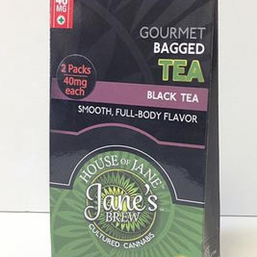 Tea Bags - Black Tea - Indica (2x Single Serve/Dose)