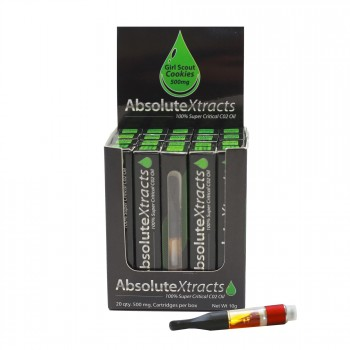 Girl Scout Cookies Vaporizer Cartridge - AbsoluteXtracts