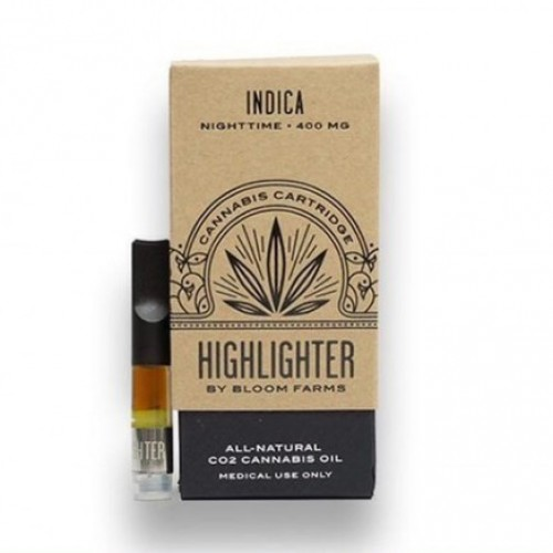 Indica Nighttime Highlighter Vaporizer Cartridge