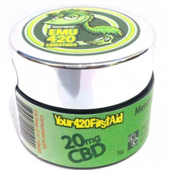 EMU 420 Classic Mentholated Medicated Rub - Topical - Cannariginals