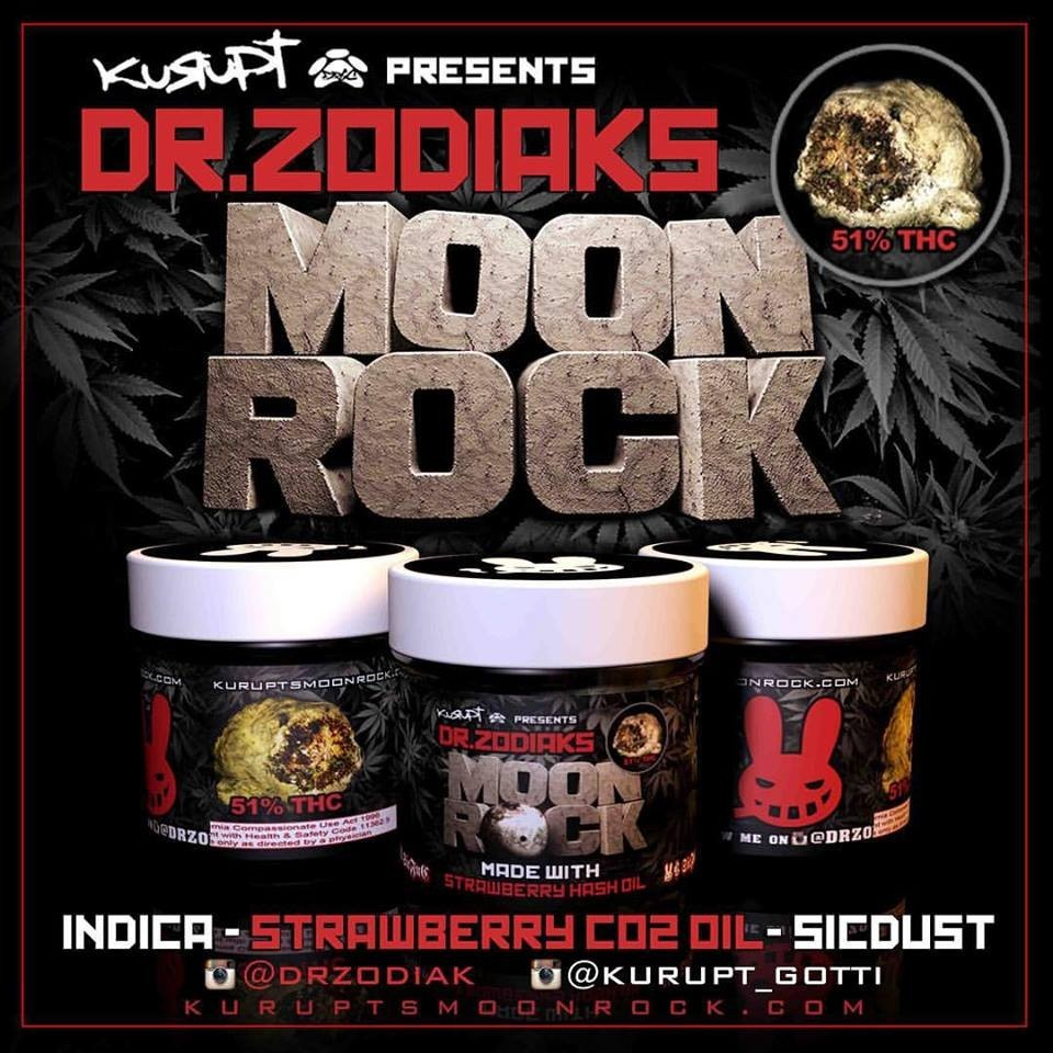 Strawberry SICKEST - Moon Rocks
