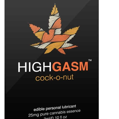 HighGasm - Cock-O-Nut Logo